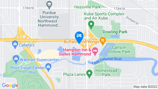 Fairfield Inn & Suites by Marriott Chicago Southeast/Hammond Map
