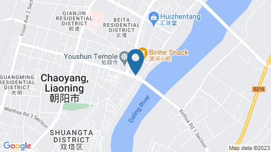 Chaoyang Huafu Wanguo Hotel Map