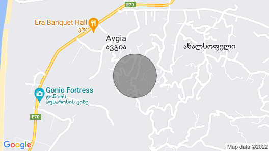 Gonio Hills, Entire Villa Between Batumi and Gonio Map