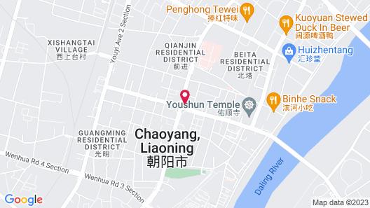 Yandu International Hotel Map