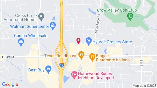 Residence Inn by Marriott Davenport Map