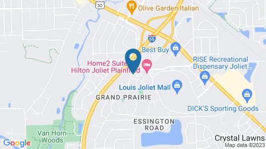 Home2 Suites by Hilton Joliet/Plainfield Map