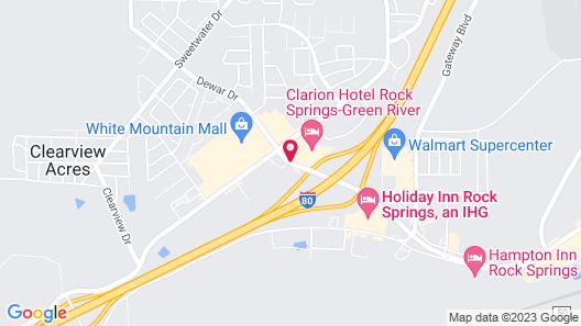 Baymont by Wyndham Rock Springs Map