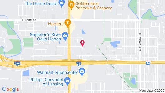 Travelodge by Wyndham Lansing IL Map