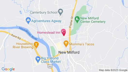 Homestead Inn Map