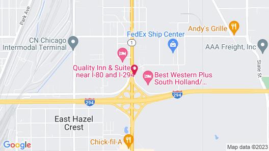 South Holland Inn Map