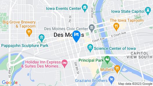 Surety Hotel Map