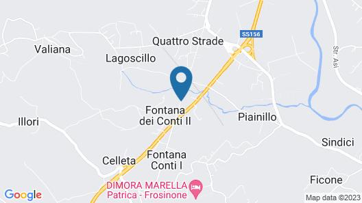 Dimora Marella Map