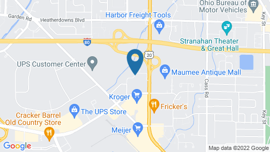 Comfort Inn & Suites Maumee - Toledo (I80-90) Map