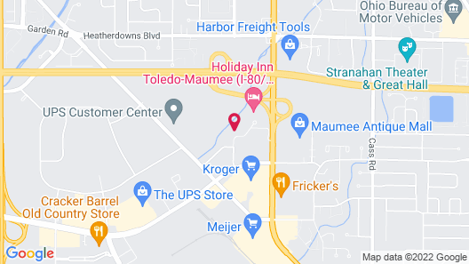 Home2 Suites By Hilton Maumee Toledo Map