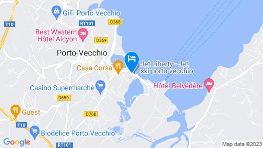 Hôtel Costa Salina Map