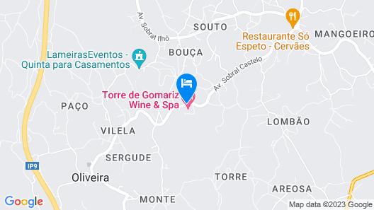 Hotel Torre de Gomariz Wine & Spa Map
