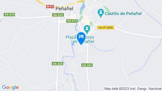 Finca Valdobar Map
