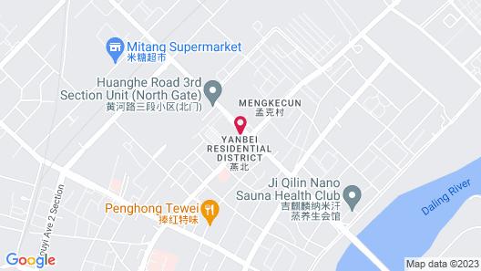 Greentree Inn Chaoyang City Chaoyang Street Fangzhi Road Express Hotel Map
