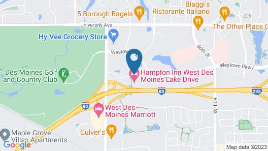 Staybridge Suites West Des Moines, an IHG Hotel Map
