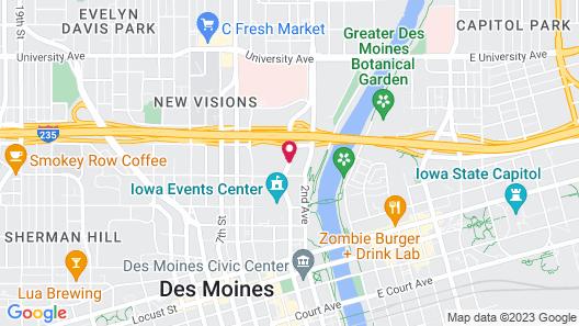 Comfort Inn & Suites Event Center Map