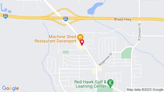 I-80 Inn & Suites Map