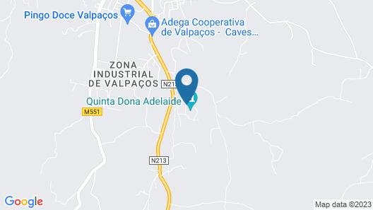 Quinta Dona Adelaide Map