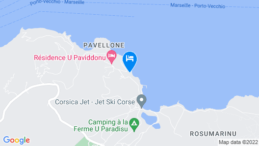 Charming Villa With Airconitioning, 10 km From Porto Vecchio Map