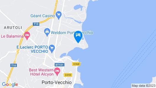Hotel Don Cesar Map