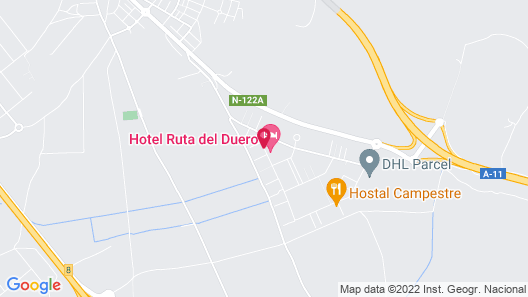 Hostal La Morada Map