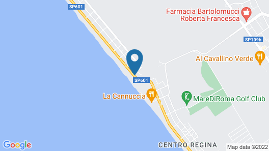 Torvajanica Meduse Apartment Map