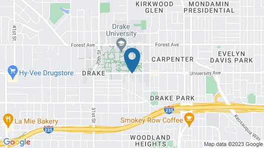 Home2 Suites by Hilton Des Moines at Drake University Map