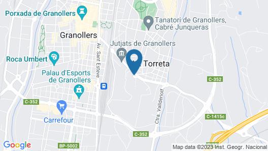 Hotel Ciutat de Granollers Map