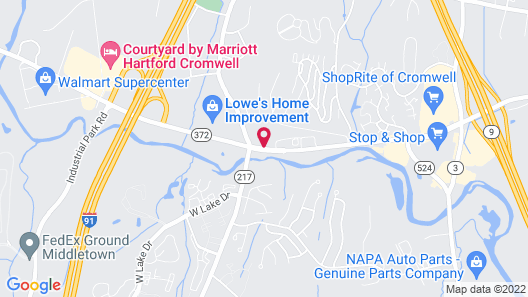 Springhill Suites by Marriott Hartford Cromwell Map