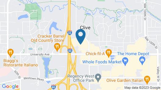 Wildwood Lodge Map