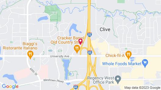La Quinta Inn & Suites by Wyndham Des Moines West Clive Map