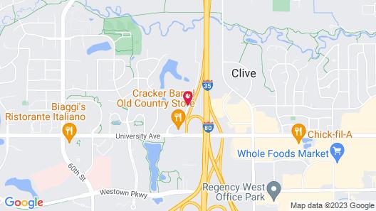Best Western Plus Des Moines West Inn & Suites Map