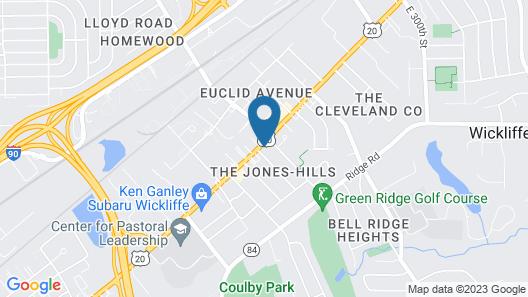 Plaza Motel Map