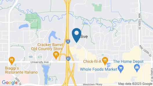 Days Inn by Wyndham West Des Moines / Clive Map