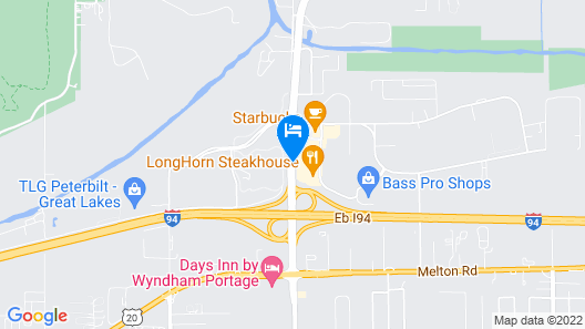 Country Inn & Suites by Radisson, Portage, IN Map