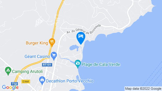 Hotel Marina Corsica Map