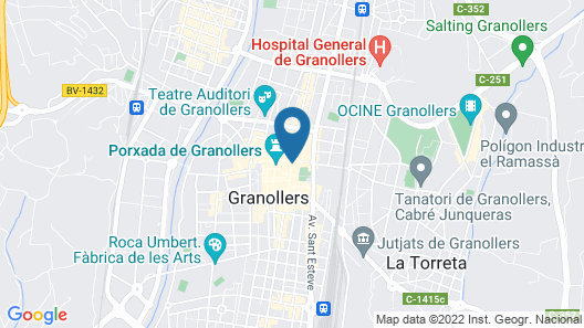 Hotel Fonda Europa Map