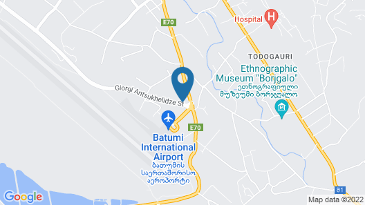 Hotel Skyline Batumi Map