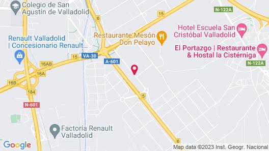 Hotel Topacio Map