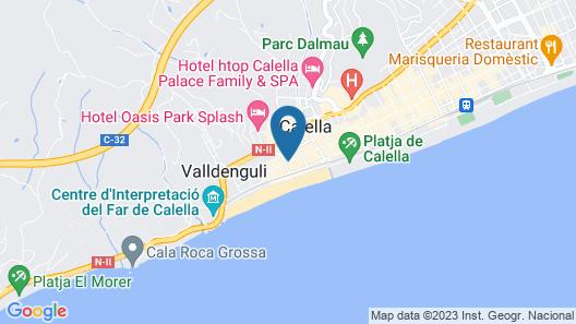 Hotel Terramar Map