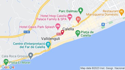 Hotel Bernat II Map