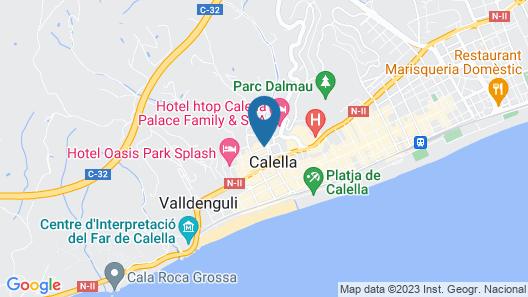 Esplai Hotel Map