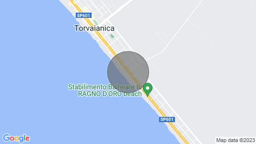 Meravigliosa Villa IN Riva AL Mare DI Roma Map