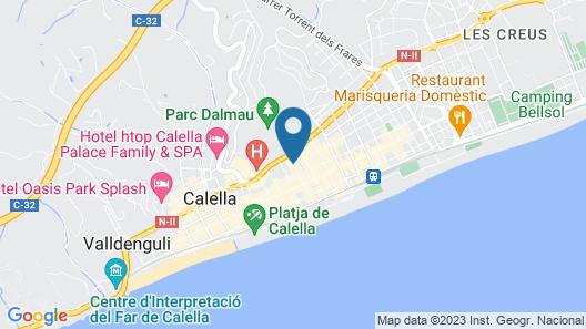 Neptuno Hotel & SPA Map