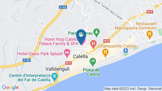 htop Calella Palace & SPA Map