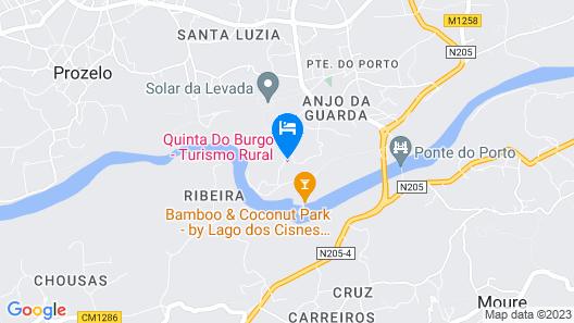 Quinta do Burgo Map
