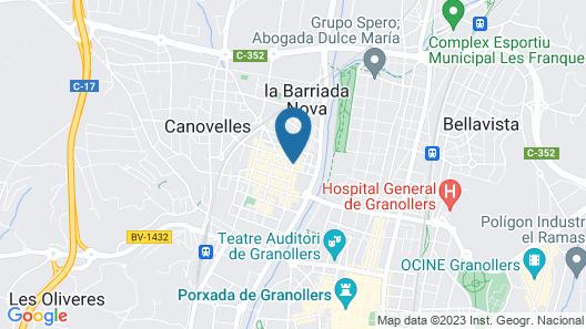Pensión Galicia Map