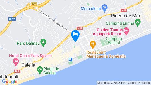 Marisol Hotel Map