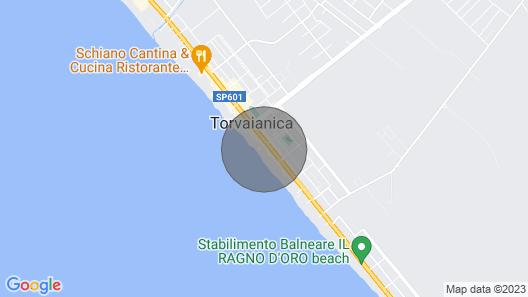 3 Huoneen Majoitus Torvajanica -rm- Map