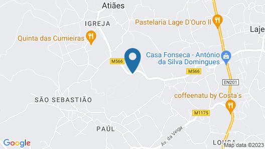 Casa do Sobreiro Map